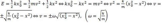 elastic potential energy e=1/2kx^2
